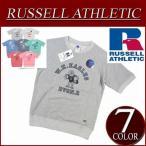 Russell Athletic ラッセル ラグランスリーブ 半袖 プリント スウェットシャツ RC1542A