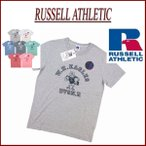 Russell Athletic 50/50 NUBLEND W.H.EAGLES プリント 半袖 Tシャツ ラッセル アスレティック