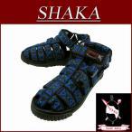 SHAKA シャカ South Africa 復刻 HIKER NATIVE BLUE ハイカー エスニック 民族柄 サンダル 43