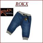 ROKX ロックス デニム コットンウッド クロップド クライミングパンツ RXMS6104