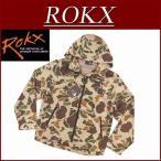 ROKX ロックス ダックハンターカモ ジップパーカー ナイロンジャケット RXMF452