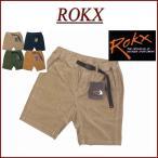 ROKX ロックス ROKX CORD SHORT ストレッチ コーデュロイ ベイカー ショートパンツ RXMS7106C