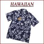 パイナップル柄 半袖 レーヨン100% アロハシャツ メンズ
