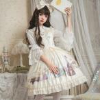 ロリィタファッション オリジナル プリント 懐かし 可愛い