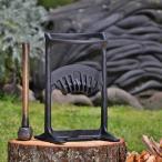 薪割り機 薪づくり 焚き付けづくり おしゃれ エーラ・ハッチンソン 薪ストーブ用 据置型 斧 「キンドリングクラッカー キング」