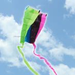 凧 凧上げ カラフル シンプル 携帯 正月 ナイロン おもちゃ 玩具 「ポケットカイト」 ケース付き