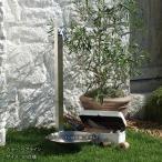 立水栓 水栓柱 ガーデニング 寒冷地対応のカラー水栓柱 アイスルージュ 1.0mタイプ (14色) 専用蛇口付き 寒冷地仕様