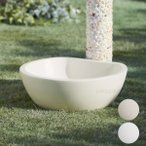 立水栓 水受け お庭の水栓柱用ガーデンパン「トレビ リビエラ」 水受け