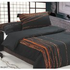 BKQ017ピロケースL(刺繍)(寝具/寝具カバー/ベッドリネン/ベッドカバー/シーツ/掛け布団カバー/布団カバー/ボックスシーツ/ピロケース/枕カバー)