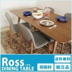 ダイニングテーブル単品 天然木ウォールナット ダイニング:ロスシリーズ テーブル単品(W180) tm-ross01