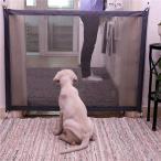 ペット犬 のフェンスゲート安全ガード安全エンクロージャ 犬 フェンス犬ゲート独創的なメッシュ魔法ペットゲート ペット用品 ...