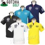 即納! GOTCHA GOLF(ガッチャゴルフ) ドライ UV カット カレッジ ベーシック ポロ 4 (182GG1211)