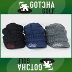 即納!SALE! GOTCHA GOLF(ガッチャゴルフ) ツバ付き ニット帽 (63GG8702)
