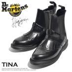 ドクターマーチン Dr.Martens レディース ブーツ 黒 TINA サイドゴア ショートブーツ ティナ