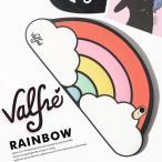 Valfre case ヴァルフェー スマホケース ケース 3D 虹 Rainbow 3 シリコン 虹 アイフォン ケース モバイル カバー