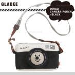 メール便送料無料 デジカメケース デジカメ入れ/かわいい グラディー(gladee)ジャンボカメラポーチ:ブラック