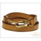ショッピングルイヴィトン ストラップ ルイヴィトン LOUIS VUITTON ショルダーストラップ ヌメ革×ゴールド金具