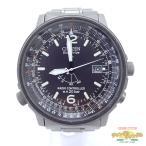ショッピング中古 中古 シチズン プロマスター ソーラー電波時計 H411-T004911 メンズ腕時計[iz]