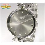 クリスチャン ディオール Christian Dior レディース腕時計 バギラ 12Pダイヤ SS クオーツ