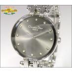 Christian Dior クリスチャン ディオール レディース腕時計 バギラ 12Pダイヤ SS クオーツ