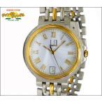 ダンヒル dunhill ボーイズ腕時計 エリート SS×GP クオーツ ホワイト文字盤