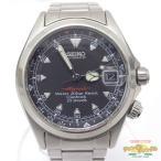 中古 セイコー アルピニスト 自動巻き メンズ腕時計 4S15-6000 オートマチックウォッチ[iz]
