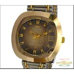 TECHNOS テクノス メンズ腕時計 ボラゾン G6 GP×SS 自動巻き ゴールド系 グラデーション文字盤