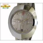 ラドー メンズ腕時計 ダイヤスター ジュビリー SS×18Pダイヤモンド 自動巻き シルバー文字盤