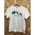 【中古】コムデギャルソン メンズ 半袖Tシャツ ホワイト系 表記サイズ:S[jggI]