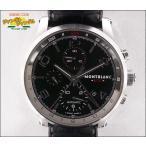MONTBLANC モンブラン メンズ腕時計 タイムウォーカー クロノボイジャー UTC 107336 ブラック文字盤