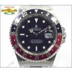 ロレックス ROLEX GMTマスター2 Ref 16710 T番 赤黒ベゼル ブラック文字盤 メンズ腕時計