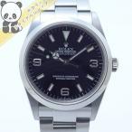 【中古】ROLEX エクスプローラーI Ref.114270 Y番 メンズ腕時計 SS AT(自動巻き) ブラック文字盤【美品】ロレックス 【新品仕上げ済】【OH済み】【Watch】