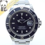 【中古】ROLEX  サブマリーナ デイト Ref.16610 K番 メンズ腕時計 SS AT(自動巻き) ブラック文字盤【美品】ロレックス 【Watch】【新品仕上げ済み】【OH済み】