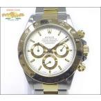ロレックス ROLEX コスモグラフ デイトナ Ref 16523 メンズ腕時計 SS×YG エル・プリメロ搭載 S番 自動巻き