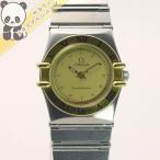 【中古】OMEGA レディース腕時計 コンステレーション SS/YG クオーツ ゴールド文字盤  6104オメガ 【レディース】【Watch】