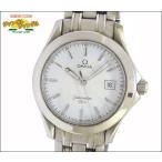 オメガ OMEGA メンズ腕時計 シーマスター120m SS クオーツ ホワイト文字盤