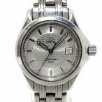 オメガ OMEGA シーマスター120 レディース腕時計 デイト SS クオーツ 文字盤シルバー 2571.31【中古】[st]