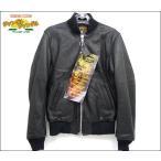 ロンハーマン×ヴァンソン コラボ レザー ジャケット ダブルジップ ブラック 表記サイズ36 中古