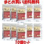 小豆 ツルシマ ヤンノー 深煎り小豆の粉 100g×10袋セット まとめ買い送料無料