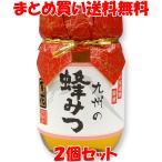 九州の蜂みつ <百花>蜂蜜 ハチミツ川口養蜂場  国産はちみつ あさイチ 500g×2個セット まとめ買い送料無料