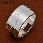 GUCCI - グッチ 073238-09850/9000-7 GGリング K18WGホワイトゴールド 指輪 GUCCI