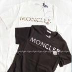 モンクレール MONCLER 2021SS新作 ロゴTシャツ ホワイト ブラック
