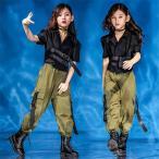キッズダンス衣装 セットアップ ダンス衣装 キッズ 韓国 ヒップホップダンス衣装 パンツ キッズ ダンス 衣装 ガールズ チアガール HIPHOPダンス衣装