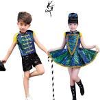 スパンコール衣装 キッズ ダンス衣装 スパンコール セットアップ チア チアダンス チアダンス衣装 男の子 女の子 キッズダンス衣装 セットアップ スカート