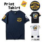 Tシャツ メンズ 半袖 ロゴT プリント 英文字 キャラクター 個性 アメカジ クルーネック 春夏 新作 大きいサイズ