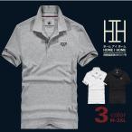 ポロシャツ メンズ 半袖 ストレッチ コットン シャツ ポロ ゴルフウェア トップス シンプル