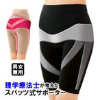 Yahoo!ジャストパートナー Yahoo!店股関節 サポーター 太もも 足腰 男女兼用 日本製 理学療法士が考えた股関節スパッツ ウォーキングスパッツ(メール便可)