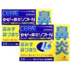 【送料無料】セピー鼻炎ソフトN 24カプセル×2個セット|指定第2類医薬品|ゼリア新薬