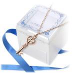 ショッピングピンクゴールド ピンクゴールド ネックレス ダイヤモンド 当店オリジナル 彼女 記念日 ギフトラッピング ラ・プレッツァ 誕生日 送料無料 クリスマスプレゼント