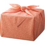 「幸せの宝箱」二段重ね 日本製風呂敷包み ピンク 〈OJYU-SHU40WPI(M)〉 焼き菓子